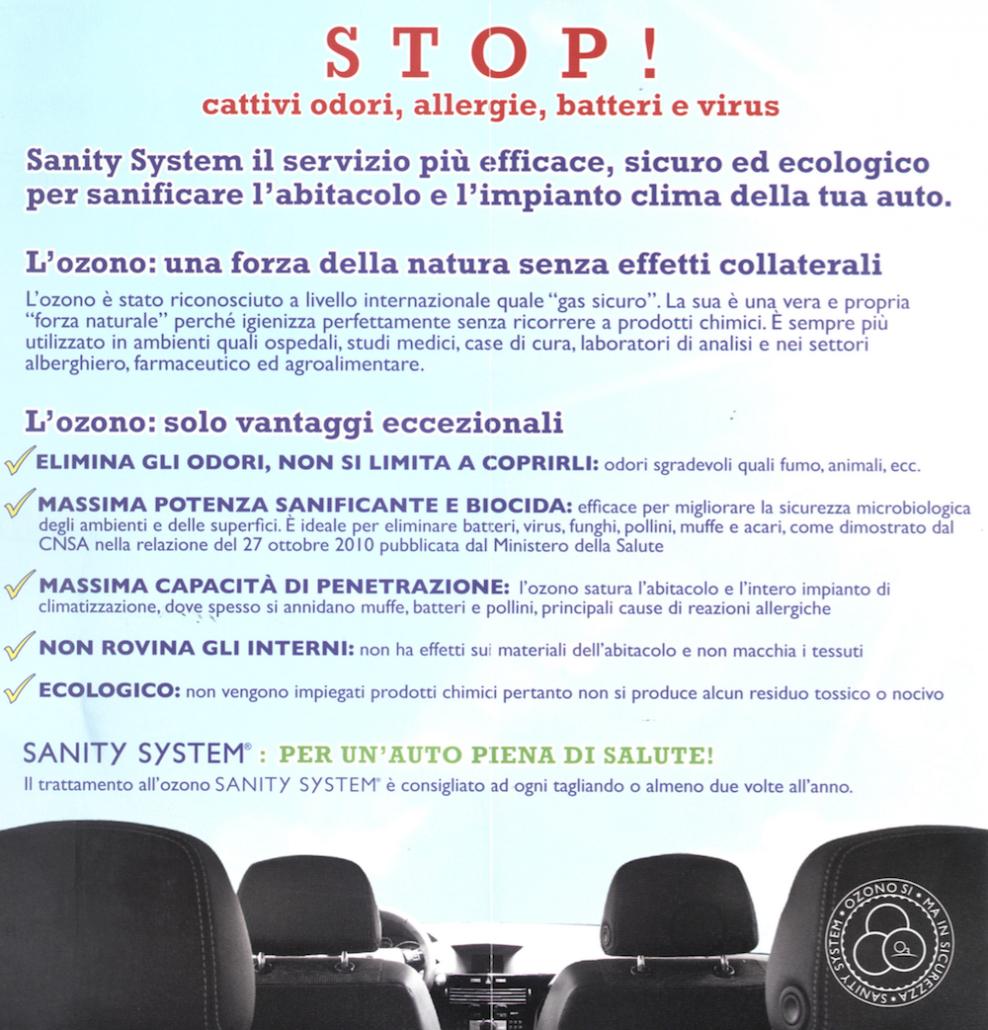 Flyer Sanity System
